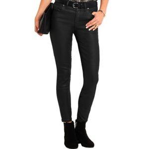 Madewell High Rise Coated Skinny Skinny Jeans 26